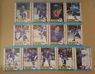 1989-90 OPC QUEBEC NORDIQUES Select from LIST NHL HOCKEY CARDS O-PEE-CHEE