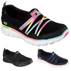 Ladies New Skechers Synergy Scene Stealer Memory Foam Trainers 3 4 5 6 7 8