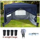 FoxHunter Waterproof 3x3m Pop Up Gazebo Marquee Garden Awning Party Tent Canopy