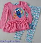 FINDING DORY Girls 4 5 6 6X Set OUTFIT Shirt Top Pants Leggings Nemo Disney