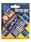 Doctor Who Dr Who Sticker Set Dr Who Sticker Pack 10x12.5cm