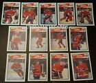 1988-89 OPC MONTREAL CANADIENS Select from LIST NHL HOCKEY CARDS O-PEE-CHEE