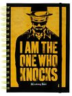 Breaking Bad I Am The One Who Knocks A5 Notebook - NEW & OFFICIAL
