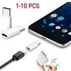 10x USB Type C 3.1 Male to Micro USB 2.0 5 Pin Female Data Adapter For OnePlus 2