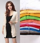 Women Casual Knitwear Sweater Long Sleeve Cardigan Knit Tops Coat Jacket Outwear