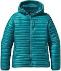 Patagonia Women's Ultralight Down Hoody Tobagon Blue Large W/Hole