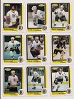 1986-87 OPC BOSTON BRUINS Select from LIST NHL HOCKEY CARDS O-PEE-CHEE