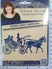 Tattered Lace Die - HORSE & CARRIAGE (D883) weddings - by Stephanie Weightman