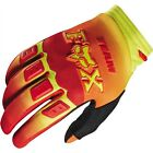 Fox Head Racing YOUTH Imperial Dirtpaw Race Glove Red/Yellow MX ATV 12021-080