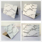 "White Marble #15 Rubberized Hard Case Cover for MacBook 12"" Air Pro 11"" 13""15"""