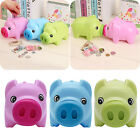 Plastic Piggy Bank Coin Money Cash Collectible Saving Box Pig Toy Kids Gift Hot