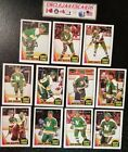 1987-88 OPC MINNESOTA NORTH STARS Select from LIST NHL HOCKEY CARDS O-PEE-CHEE