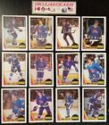 1987-88 OPC QUEBEC NORDIQUES Select from LIST NHL HOCKEY CARDS O-PEE-CHEE