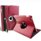 Apple iPad Air Retina Leather 360 Case Cover Stand Drop Protection Smart Cover