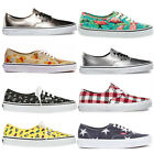 VANS Authentic Stylish Pattern Skateboarding Athletic Sneakers Men Women Shoes