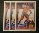 1984-85 OPC MONTREAL CANADIENS Select from LIST NHL HOCKEY CARDS O-PEE-CHEE