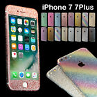 Beauty Glitter Bling Full Body Decals Sticker Protective case for iPhone 7 7Plus