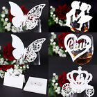 Bride/Groom Design Table Number Card Holders Place Name Cards Wedding Stationery