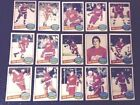 1980-81 OPC DETROIT RED WINGS Select from LIST NHL HOCKEY CARDS O-PEE-CHEE