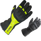 ARMR Moto WPL250 Leather Motorcycle Gloves Breathable Waterproof Touring Bike