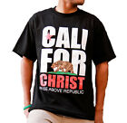 Rise Above Republic Cali For Christ Christian T-shirt-small