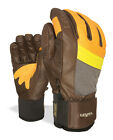 Level Gloves Snowboard gloves Rexford orange Thermo - plus Leather