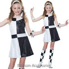 CK880 Mod Chic 1960's 60s Retro Disco Tween Girls Mods Rockers Dress Up Costume