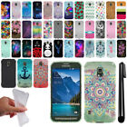 For Samsung Galaxy S5 Active G870A Design TPU SILICONE Case Phone Cover + Pen