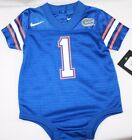 NEW Infant Toddler FLORIDA Gators NIKE Jersey #1 NCAA One Piece Football Outfit