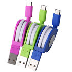 Type-c Retractable Charging Data Line Music USB3.1 Phone Adapter Sync Cable Cord