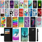 "For Samsung Galaxy A7 A710 5.5"" 2nd Gen Wallet Leather POUCH Case Cover + Pen"