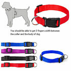 1Pc Adjustable Nylon Collar Pet Dog Solid 2016 Charming 3 Colors 4 Sizes XS-L