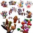 Family Finger Puppets Plush Doll Baby Kids Educational Hand Cartoon Animal Toy