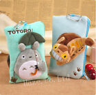 Anime My Neighbor Totoro Cat Bus Plush Phone Case Coin Purse Pouch Gift