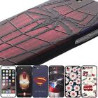 3D marvel hero superman Ironman Spiderman Unique Case cover skin for iPhone 7
