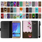 For Samsung Galaxy J5 J510 2nd Gen 2016 Flip Leather POUCH Case Cover + Pen