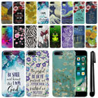 For Apple iPhone 7 Plus 5.5 inch PATTERN HARD Protector Back Case Cover + Pen