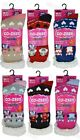 3 Pairs Ladies 4.7 Tog Insulated Warm Thermal Socks Sherpa Lined Womens Slippers