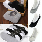 1-12 Pairs Women Men Cotton Loafer Boat Non-Slip Invisible Low Cut No Show Socks