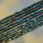 2mm 3mm 4mm Natural Gemstones Round Spacer small Beads 15.5'' Jewelry Design