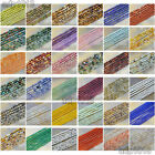2mm 3mm 4mm Natural Gemstones Round Spacer Seed Beads 15.5'' Jewelry Design