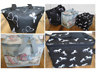 Lunch Bag - Thermal Butterfly, Horse or Beach Print