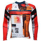 Men Long Sleeve Bicycle Jersey Outdoor Sports Wear Clothing Team Racing Cycling