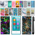 For Apple iPod Nano 7th Gen Art Design Protective Hard Case Back Cover + Pen