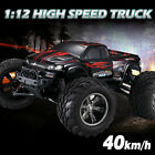 40km/h 1/12 Scale 2.4G High Speed 4WD RC Off-road Car Crawler RTR USB Gift Toys