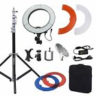 "Dimmable Diva Video LED Ring Light 14"" 18"" 40W 55W Mirror & Stand Make Up Studio"