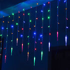 3.5M 96 LED Icicle Curtain String Lights For Christmas Fairy Party Ornaments