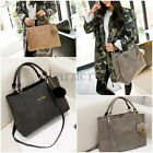 Trendy Korean Women Handbag Shoulder Bag Messenger Large Tote Leather Lady Purse