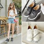 Womens Fashion New Hidden Heel Lace Up Casual Shoes Size Outdoor Sports Sneakers
