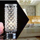 Crystal Table Lamp Bedroom Shade lights Bedside lamp Creative table lamp Glass